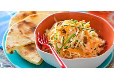 Salade de Coleslaw à la coriandre et sésame - 12 pcs