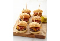 Mini cheese burger Comté - 24 pcs