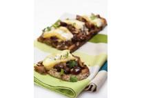 Bruschetta de champignons et Reblochon - 20 pcs