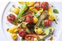Verrines légumes méditerranéens & chèvre - 20 pcs