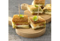 Mini croque-monsieur gratiné- 24 pcs