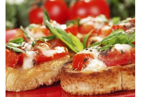 Tartines chèvre & tomate confite - 20 pcs