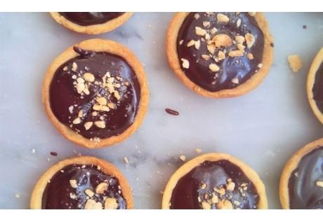 Tartelettes brut de chocolat - 24 pcs