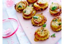 Mini tartelette de boudin blanc aux pommes - 24 pcs