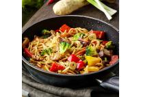 Noodles au poulet satay