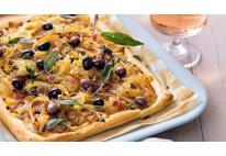 Pissaladière aux oignons et anchois - 24 pcs