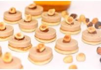 Blinis foie gras et noisette - 24 pcs