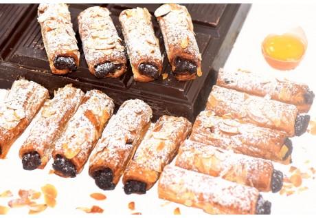 Mini torsade chocolat amandes - 30 pcs
