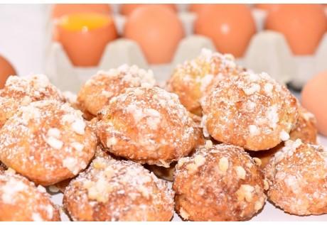 Chouquettes au sucre - 30 pcs