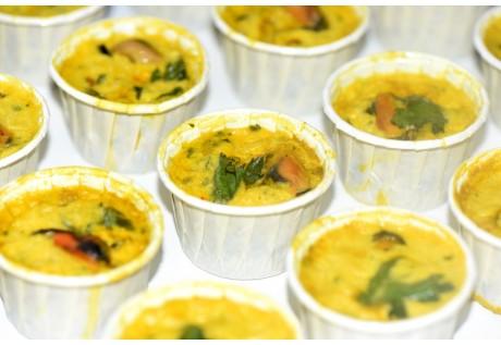 Moelleux moules au curry - 20 pcs