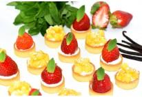 Mini tartelettes aux fruits de saison - 24 pcs