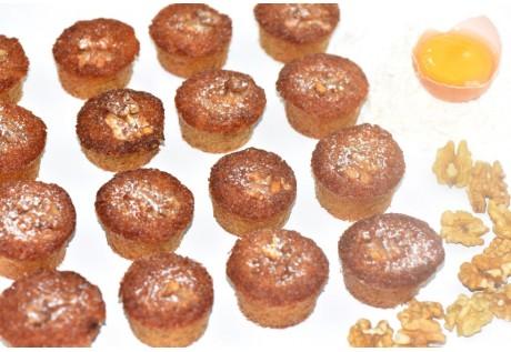 Petits bouchons aux noix - 24 pcs